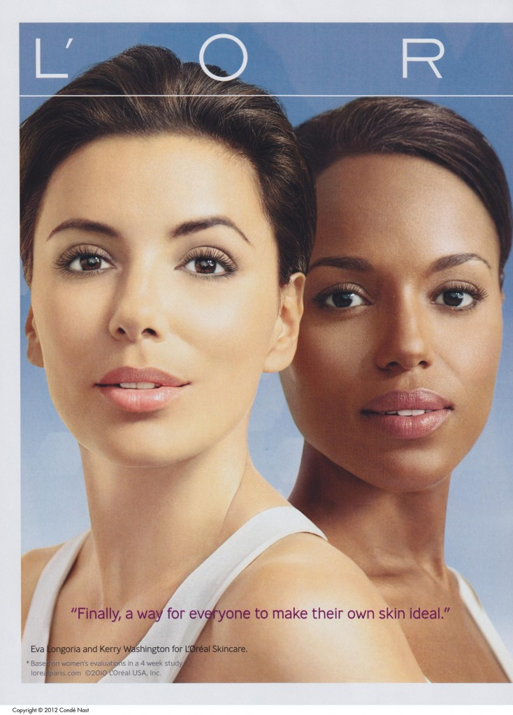Advertisement: Skin Genesis (L'Oréal). Vogue 200, no. 2 (February 1, 2010): 78-79
