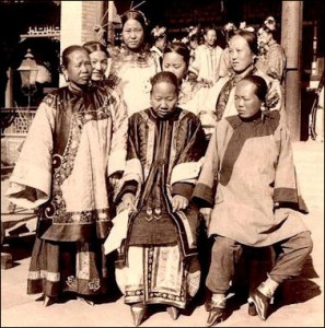 Wikicommons Foot binding wealthy