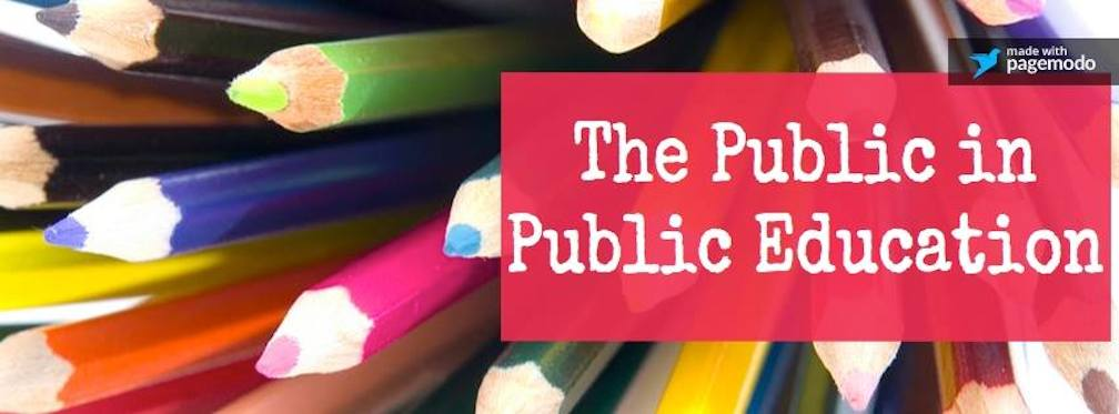 The Public in Public Education