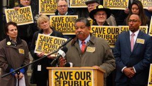 A Save Our Public Schools Rally