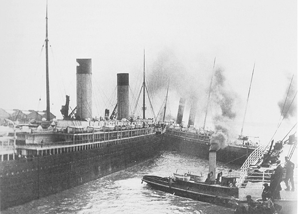 Titanic's near collision with S.S New York