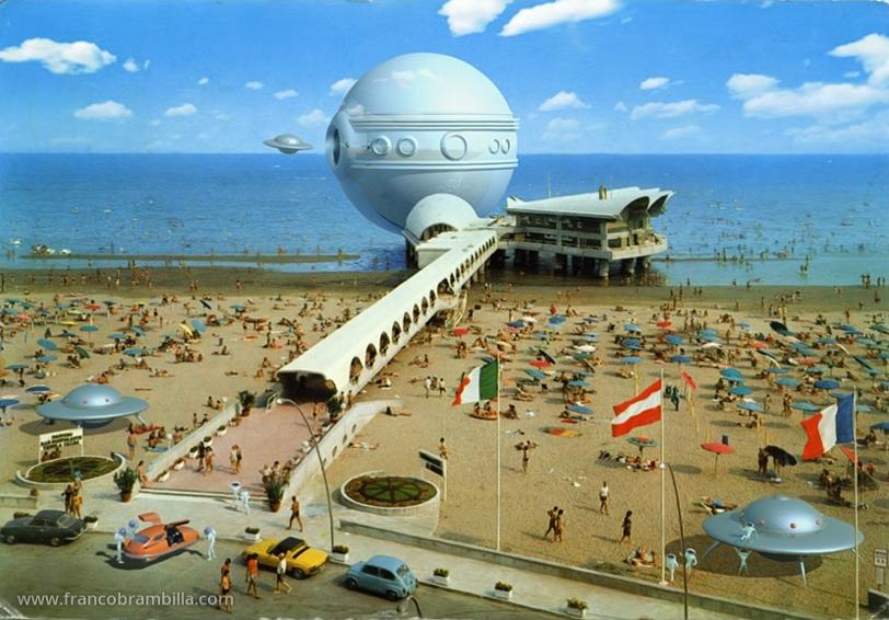 """Franco Brambilla, """"Adriatic Bubble Ferry"""""""