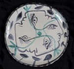 PABLO PICASSO (Spanish, 1881–1973) - Untitled, ca. early 1950s - ceramic plate