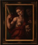 UNKNOWN ARTIST (Italian) - Judith Holding the Head of Holofernes, 1550–1599 - egg tempera on panel