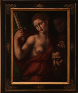 UNKNOWN ARTIST (Italian) - Judith Holding the Head of Holofernes, 1550–1599