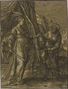 CHRISTOFFEL VAN SICHEM, THE ELDER (Dutch, 1546–1624) Judith with the Head of Holofernes, 1630
