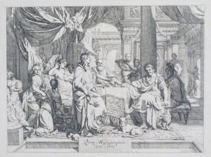 GERARD DE LAIRESSE - Banquet of Cleopatra, 1670