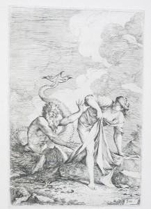 SALVATOR ROSA (Italian, 1615–1673) - Glaucus and Scylla, 1624