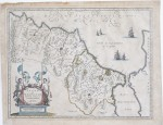ABRAHAM ORTELIUS (Flemish, 1527–1598) Map of Fezzae and Morocco, 1570, 1635