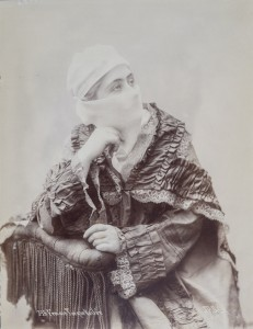 J.P. SEBAH (Turkish, 1872–1947, also active in Cairo) - Turkish Woman with Veil, ca. 1900