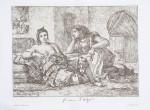 EUGÈNE DELACROIX (French, 1798–1863) - Femme d'Algiers, ca. 1840 - lithograph