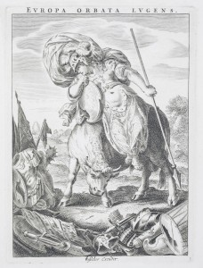 CLAES JANSZ. VISSCHER (Netherlandish, ca. 1550–ca. 1612) - Europe, from The Four Continents, ca. 1653