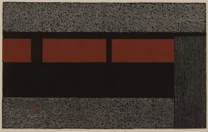Kiyoshi Saitō 清斎藤 Japanese, 1907–1997  Wall of Kyoto, 1960 woodblock Gift of Ted and Marcia Marks 2015.34.23